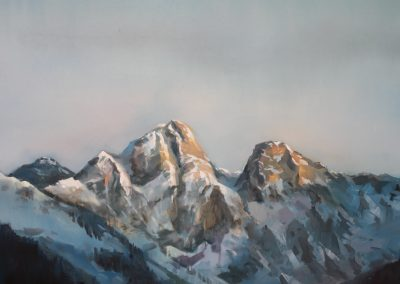 Poetic Mountian painting 1