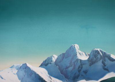 Poetic Mountian painting 2